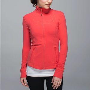 Lululemon Define Jacket size 6 Atomic Red